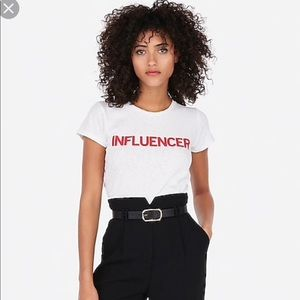 Influencer Tee Shirt from Express